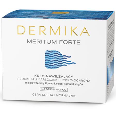 DERMIKA MERITUM FORTE, KREM NAWILŻAJĄCY, 50 ML.