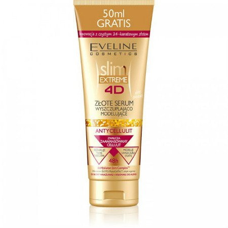 Eveline Slim Extreme 4D - Złote SERUM, 250 ml.
