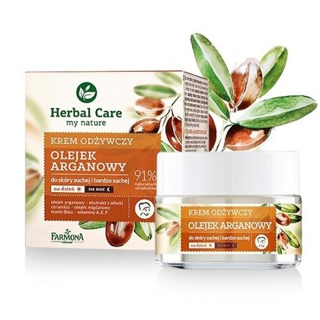 Herbal Care KREM Olejek Arganowy, 50 ml.