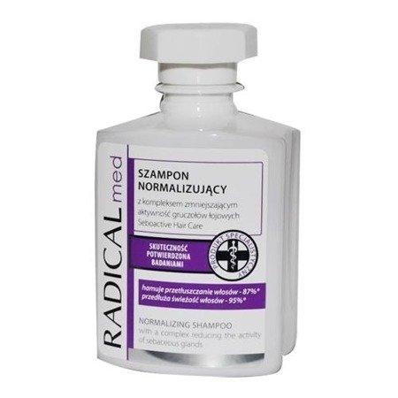 Radical Med - SZAMPON normalizujący, zmniejsza przetłuszczanie się włosów, 300 ml.
