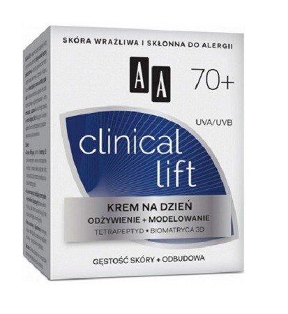 AA - Clinical Lift 70+ - KREM odżywczo-modelujący na DZIEŃ, 50 ml.