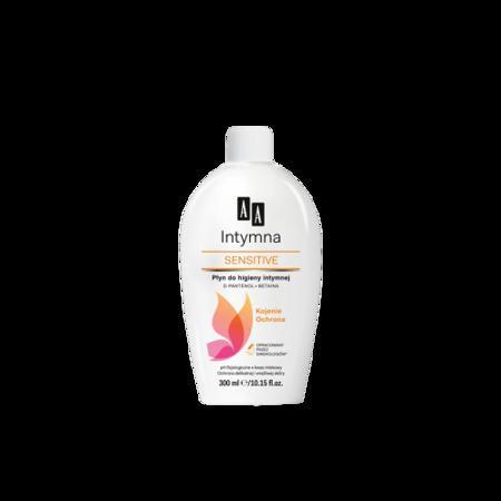 AA Sensitive - Intymna - ŻELE do higieny intymnej, 300 ml.