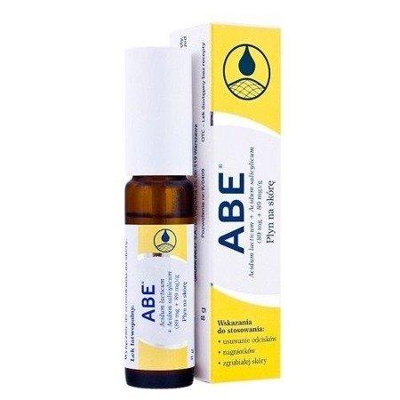 ABE - preparat do usuwania odcisków, nagniotków i grubień skóry, 8 g.