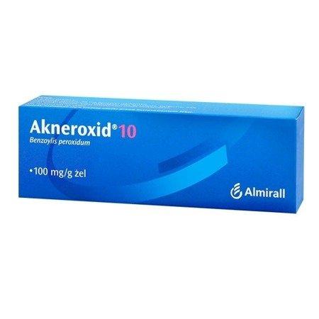 Akneroxid 10% - ŻEL, 50 g.