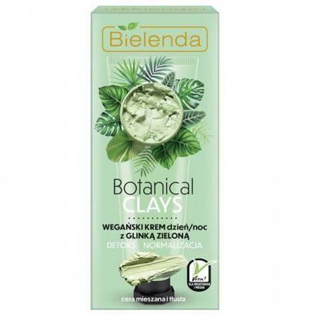 BOTANICAL CLAYS Wegański krem z glinką zieloną dzień/ noc 50 ml