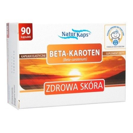 Beta-Karoten, 90 kapsułek. Naturkaps