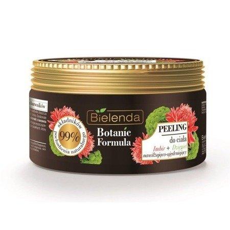 Bielenda Botanic Formula Imbir+Dziegieć, PEELING do ciała, 350 ml.