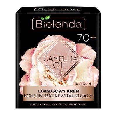 Bielenda Camellia Oil 70+ KONCENTRAT rewitalizujący na Dzień i Noc, 50 ml