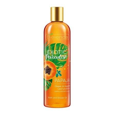 Bielenda Exotic Paradise, OLEJEK Papaja, 400 ml.