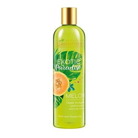 Bielenda Exotic Paradise, OLEJEK do kąpieli Melon, 400 ml.