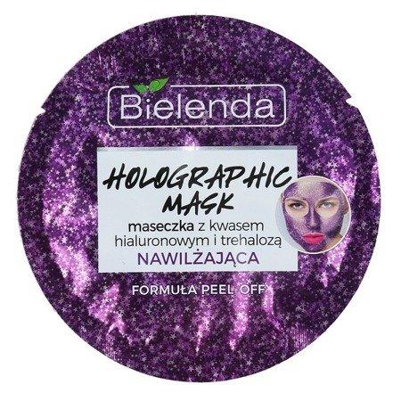 Bielenda Holographic Mask, MASECZKA nawilżająca PEEL-OFF, 8 g.