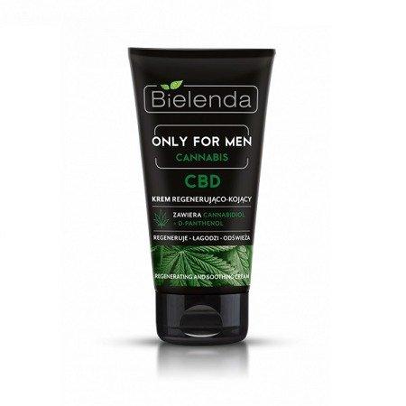 Bielenda ONLY FOR MEN Cannabis, KREM regenerująco-kojący, 50 ml