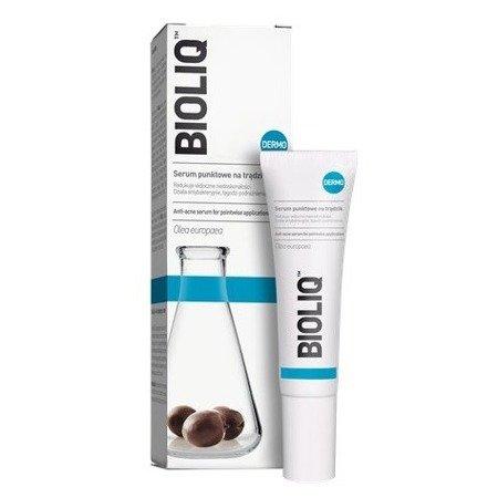 Bioliq Dermo - SERUM punktowe na trądzik, 15 ml.
