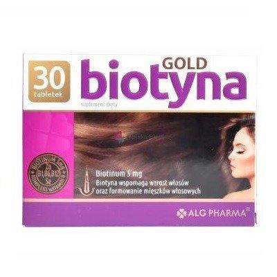 Biotevit/Biotyna GOLD 5 mg. zamiennik Biotebal-u, 30 tabletek.