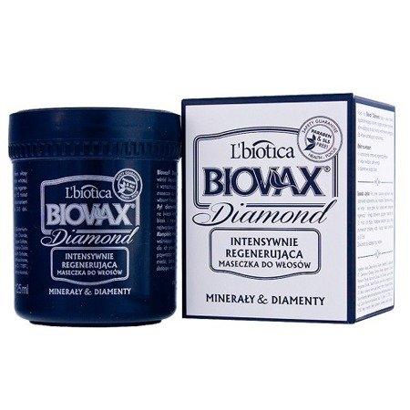Biovax Glamour DIAMOND - MASECZKA intensywnie regenerująca do włosów z pyłem diamentowym i minerałami, 125 ml DATA  31.05.2017