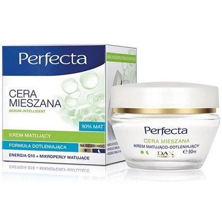 DAX - Perfecta, Cera Mieszana - KREM dotleniający z matującymi mikro-perłami do cery mieszanej na DZIEŃ i NOC, 50 ml.