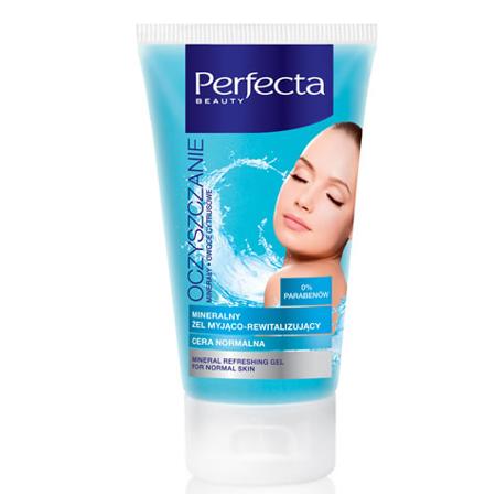 DAX - Perfecta Oczyszczenie - ŻEL myjąco-rewitalizujący z minerałami do cery normalnej, 150 ml.