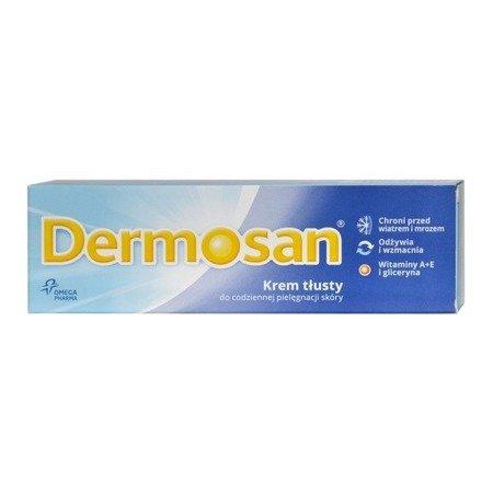 Dermosan - KREM tłusty z witaminą A+E, 40 g.