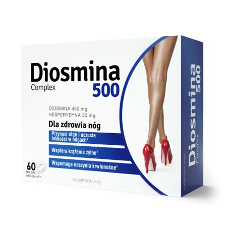 Diosmina 500 Complex, 60 tabletek. Colfarm