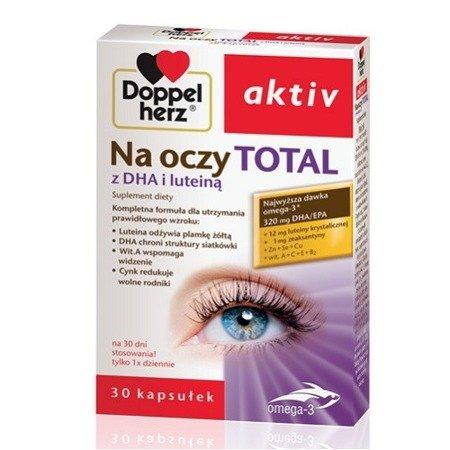 Doppelherz Aktiv - Na oczy TOTAL, 30 kapsułek.