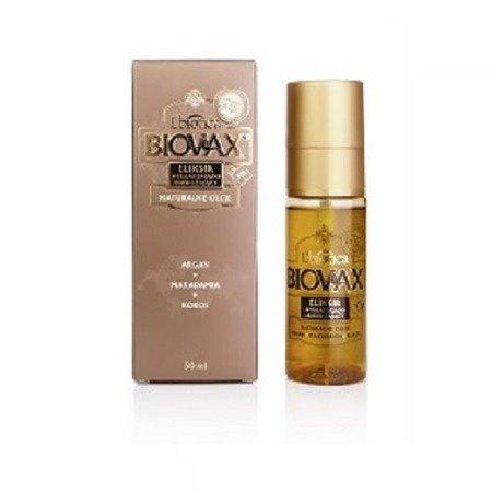 ELIXIR/SERUM do włosów z olejem Arganowym, Makadamia i Kokosowym, 50 ml. (Biovax)