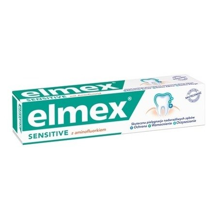 Elmex Sensitive Plus - PASTA do zębów 75 ml.