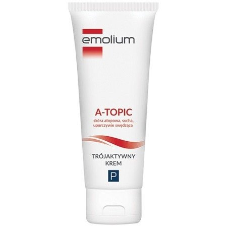 Emolium A-topic - KREM trój-aktywny, 50 ml.