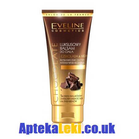 Eveline - Czekolada&Argan - BALSAM luksusowy do ciała intensywnie regenerujący, 200 ml.