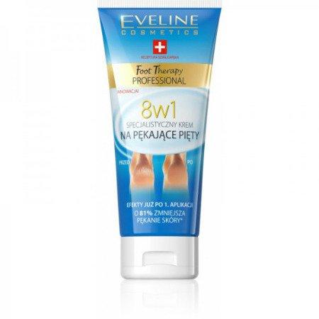 Eveline Foot Therapy Professional – KREM na pękające pięty 8w1, 100 ml.