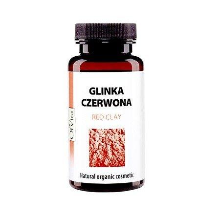 Glinka CZERWONA organiczna, 100 g. Olvita