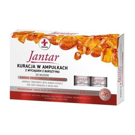 Jantar Medica, kuracja w ampułkach z wyciągiem z bursztynu, 5 ampułek.