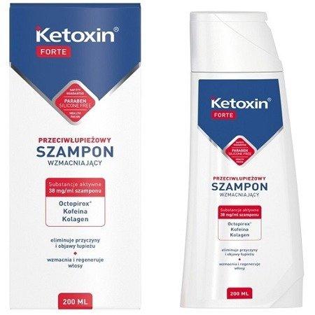 Ketoxin Forte - Wzmacniający SZAMPON przeciwłupieżowy,200 ml.