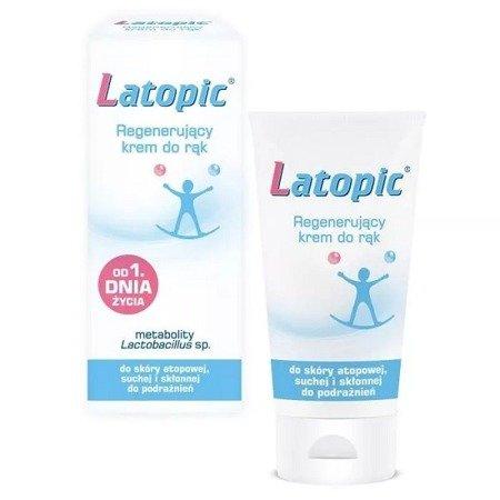 Latopic - KREM regenerujący do rąk od 1 dni życia, 50 ml.