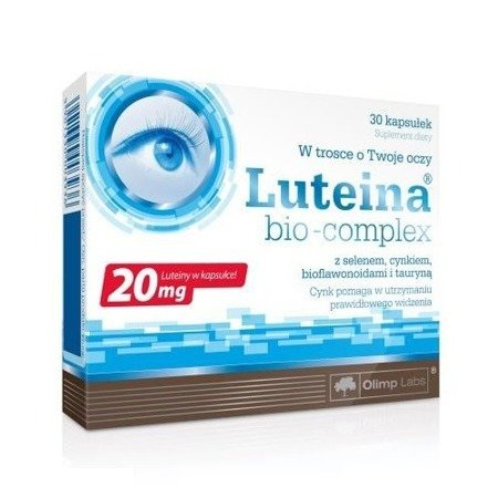 Luteina bio-complex, 30 kapsułek.(Olimp)