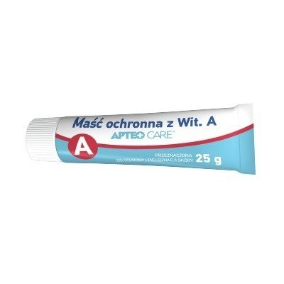 Maść ochronna z witaminą A, 25 g. Apteo