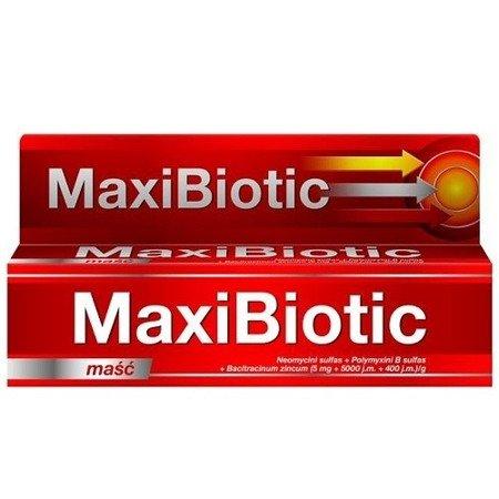 MaxiBiotic - MAŚĆ antybiotykowa, 5 g.
