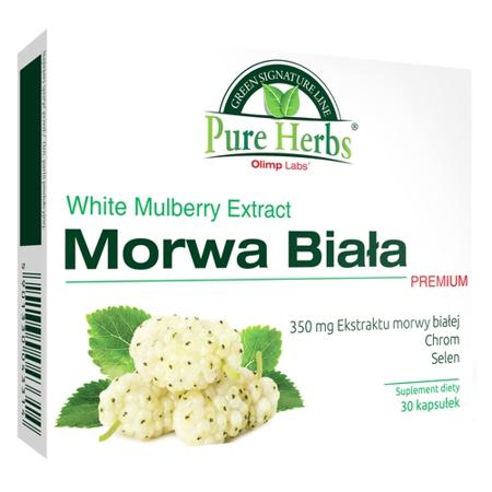 Morwa Biała Premium, 30 kapsułek. (Olimp)
