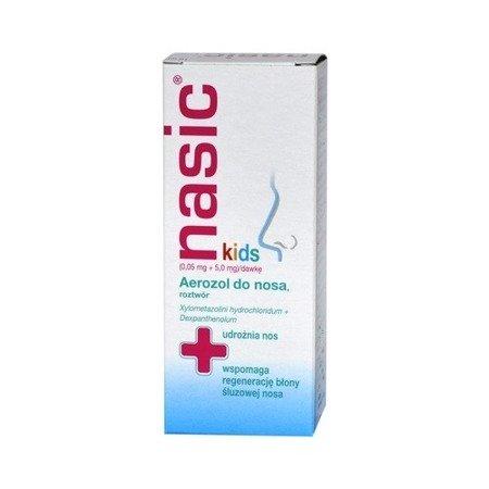 Nasic Kids - aerozol do nosa dla dzieci, 10 ml.