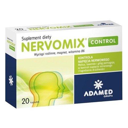 Nervomix Control, 20 kapsułek.