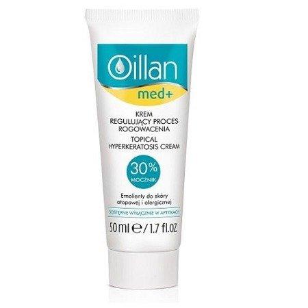 Oillan - Med+ - KREM regulujący proces rogowacenia skóry z mocznikiem, 50 ml.