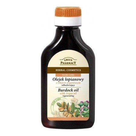 Olejek łopianowy z olejem Arganowym, 100 ml. Green Pharmacy
