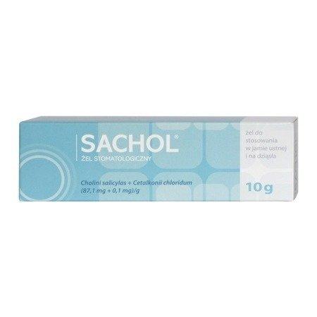 Sachol - ŻEL odkażający i przeciwzapalny, 10 g.