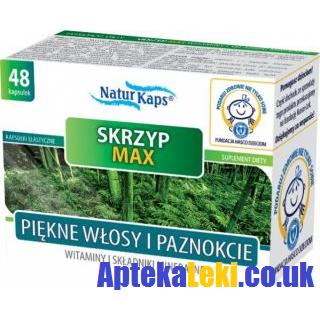 Skrzyp Max, 48 tabletek.(Naturkaps)