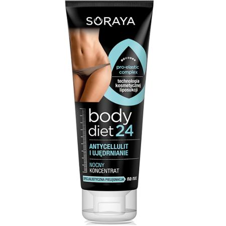 Soraya - Body Diet 24 - Koncentrat antycellulit i ujędrnienie na NOC, 200 ml.