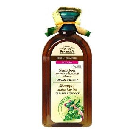 Szampon - Przeciw wypadaniu włosów z Łopianem, 350 ml. Green Pharmacy