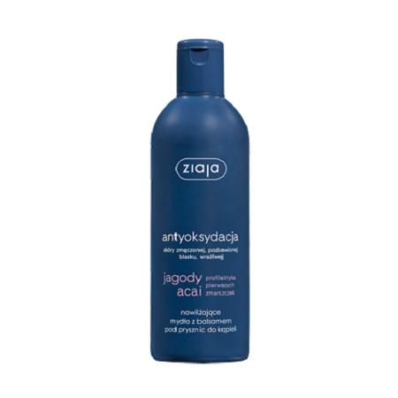 Ziaja - Acai - MYDŁO nawilżające z balsamem pod prysznic, 300 ml.