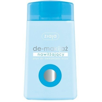 Ziaja - De-makijaż - PŁYN nawilżający do demakijażu oczu, 120 ml.
