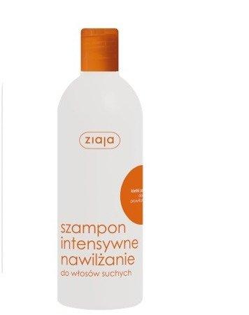 Ziaja - Intensywna pielęgnacja włosów - SZAMPON z kiełkami pszenicy do włosów suchych, 400 ml.