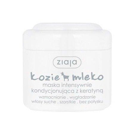Ziaja - Kozie Mleko - MASKA z keratyną, 200 ml.