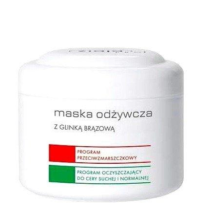 Ziaja - PRO – MASKA odżywcza z glinką brązową, 200 ml.